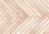 Natural brown wooden parquet herringbone. Wood texture. - 170488196