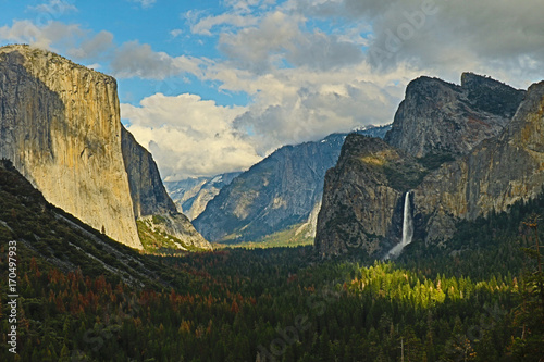 Tunnel View Yosemite Poster