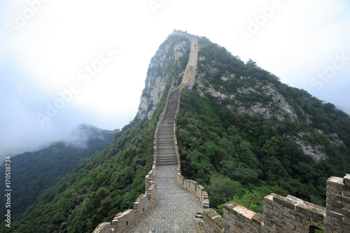 landscape of the great wall in China Poster