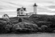 Black & White Lighthouse