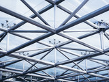 Steel structure Architecture detail Abstract Background - 170536946