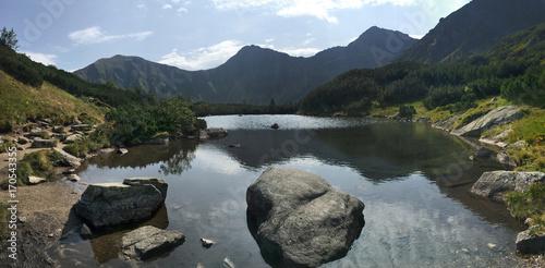 Foto op Plexiglas Bergen mountain lake, West Tatras, Slovakia