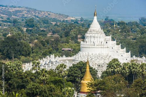 Aluminium Fyle Hsinbyume Pagoda