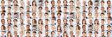Viele Geschäftsleute Porträts als multikulturelles Team - 170566373