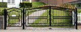 Iron gate and gate - 170568920
