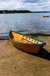 Row Boat on the beach at Pine Point Maine