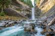 Brandywine waterfall in Brandywine Falls Provincial Park, British Columbia, Canada.
