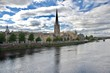 panorama of Perth city in Scotland