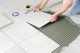Fototapety Laying Ceramic Tiles.