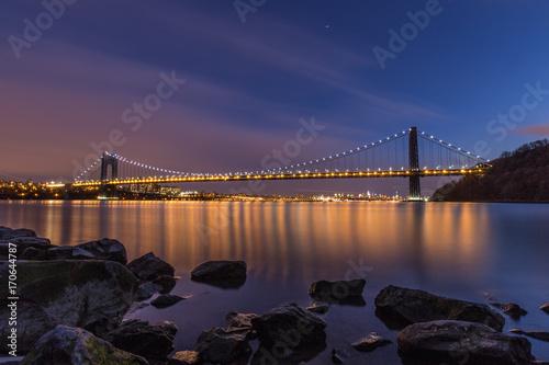 Fotobehang Bruggen George Washington Bridge