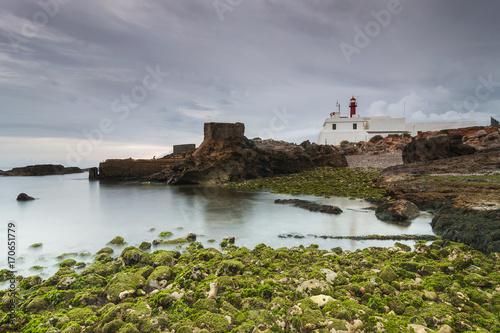 Fotobehang Vuurtoren Lighthouse in cape raso, cascais - Portugal