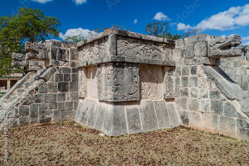 Venus Platform at the archeological site Chichen Itza, Mexico Poster