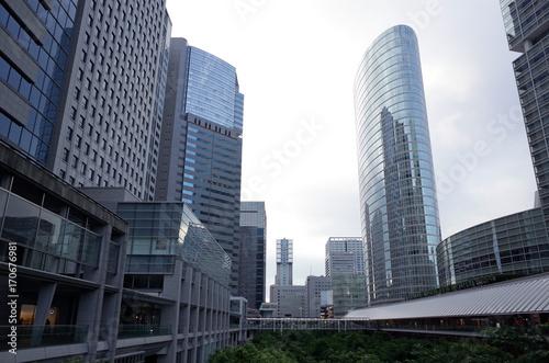 Poster Chicago 品川の高層ビル