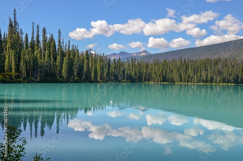 Fotobehang Canada Emerald Lake, Kanada