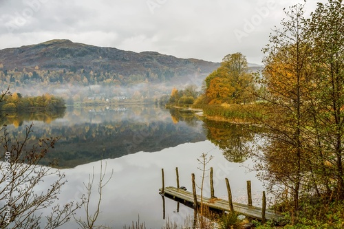 Fotobehang Herfst Autumn colours at Grasmere