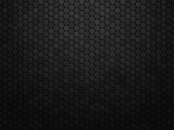 Abstract black texture background hexagon - 170710586