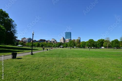 Foto op Plexiglas Gras Trip to New England, USA