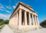 Temple of Hephaestus in Agora of Athens, Greece - 170733908
