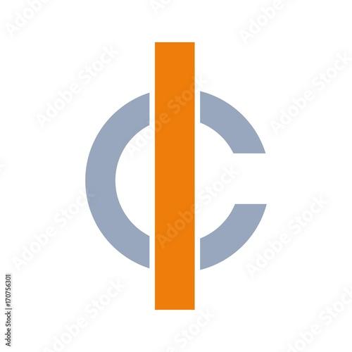 letter l.a logo