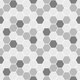 Grey Hexagons Seamless Pattern - 170768549