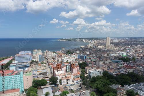 Foto op Canvas Havana La Habana, Cuba, vista desde edificio alto.