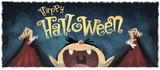 niño vampiro en halloween