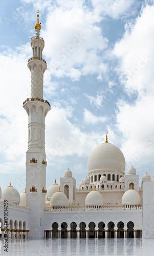 Foto op Canvas Abu Dhabi Sheikh Zayed Mosque, Abu Dhabi, UAE