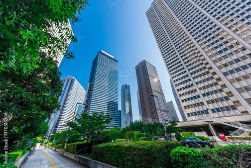 新宿の高層ビル群