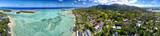 Rarotonga Muri Lagoon Polynesia Cook Island tropical paradise view
