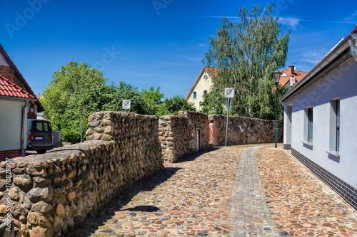 Papiers peints Brick wall Gräfenhainichen, Stadtmauer