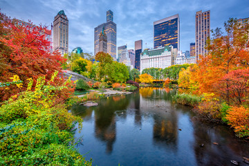 Central Park Autumn in New York City