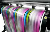 large printer format inkjet working - 170848101