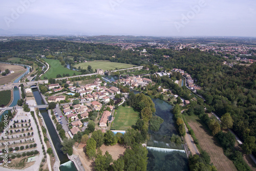 Vedute Mantova città lago, Cittadella, Marmirolo, Goito, Bosco Fontana