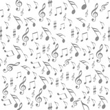 seamless pattern music