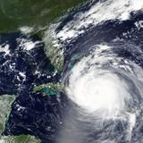 Hurricane Irma heading towards Bahamas and Miami, Florida - Elements of this image furnished by NASA - 170877347