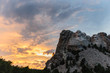 Mount Rushmore in the evening light