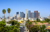 Los Angeles, California, USA downtown cityscape at sunny day - 170897542