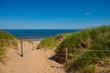 Way to the sand beach at Greenwich, Prince Edward Island