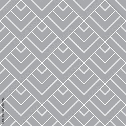 Interesting seamless golden geometric pattern tile - 170904942