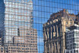 Office Buildings Reflecting