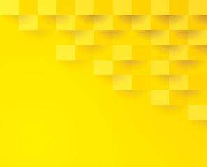 Yellow geometric background.