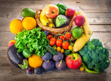 Fresh fruits and vegetables - 170937939