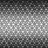 Pattern with repeating circles in gray colors. 3d illustration.