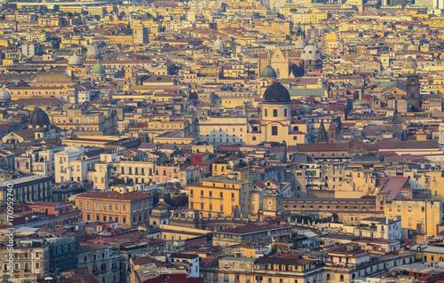 Papiers peints Naples View of Naples