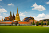 Temple of the Emerald Buddha in Bangkok - 170957943
