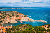 Vue panoramique de Collioure du haut du Fort Saint-Elme - 170961361
