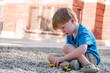 playing gravel