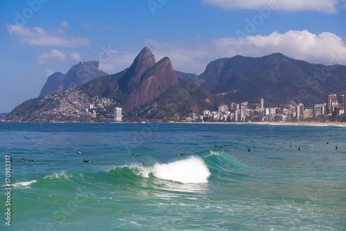 Foto op Plexiglas Rio de Janeiro Arpoador beach, Rio de Janeiro
