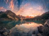 Sunrise hour at Banff