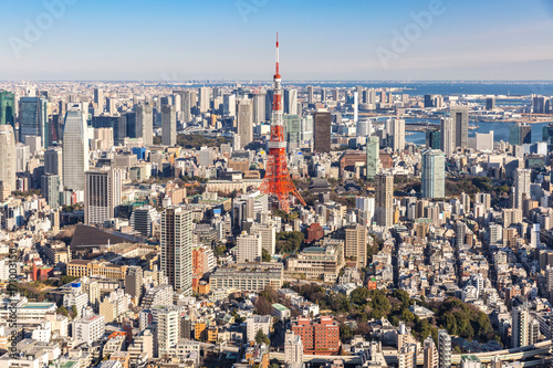 Fotobehang Tokio Tokyo Tower, Tokyo Japan